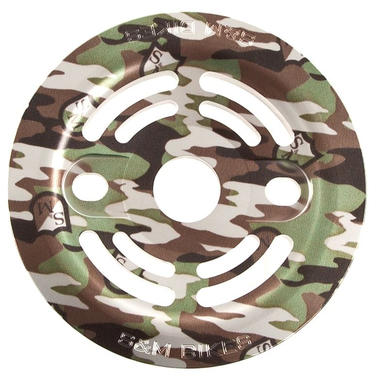 S&M Drain Man Guard Sprocket - Camo