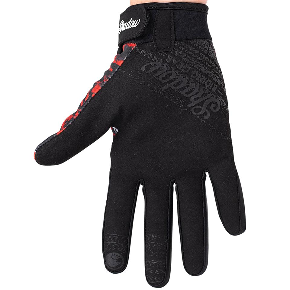 Shadow Conspire Gloves - Red Tie Dye
