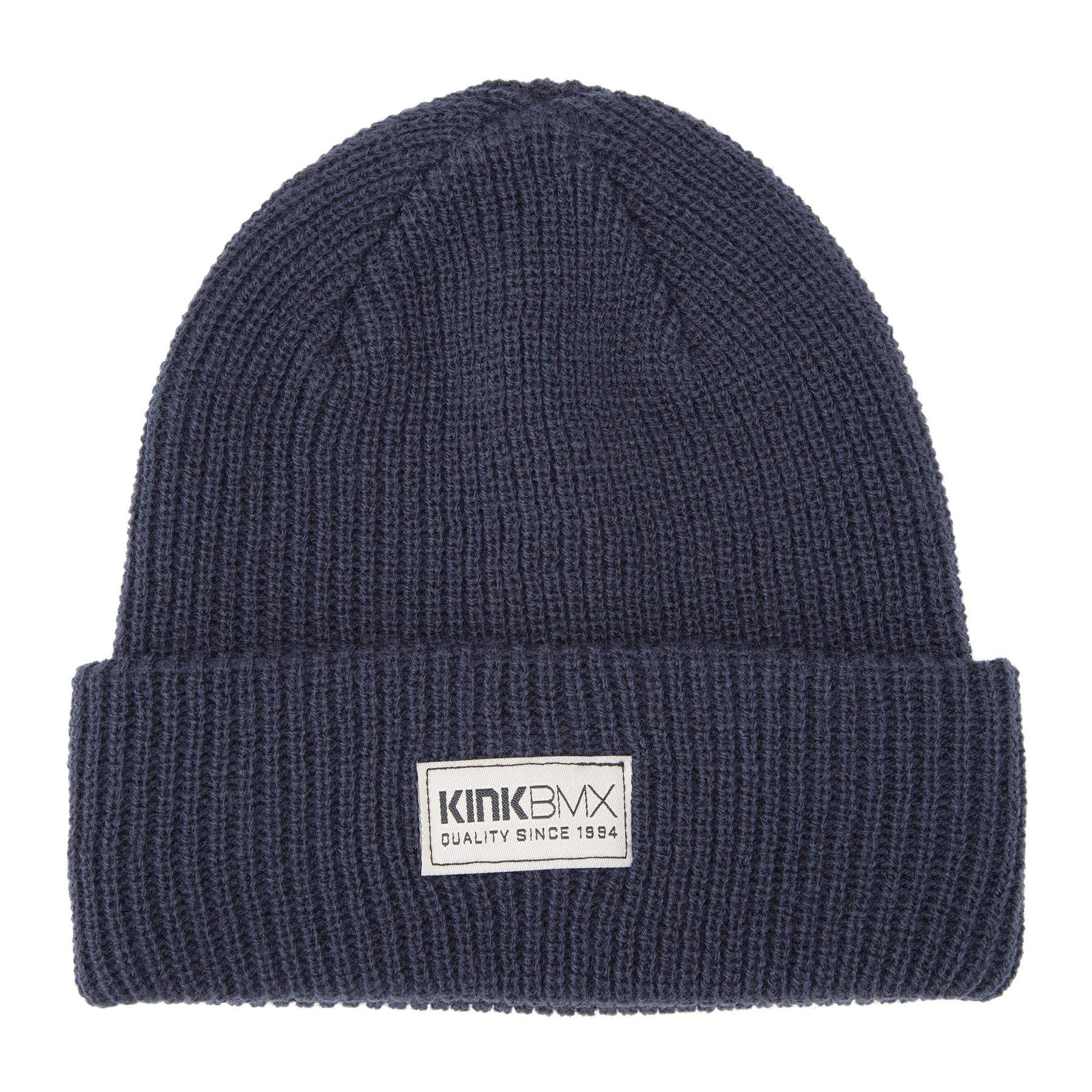 Image of Kink Labeled Beanie - Navy