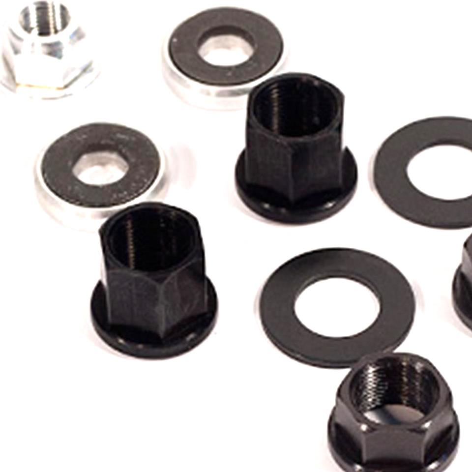 Profile Chromoly Hub Axle Nuts & Washers
