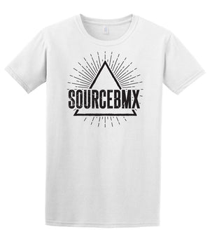 Source Pyramid Tee White