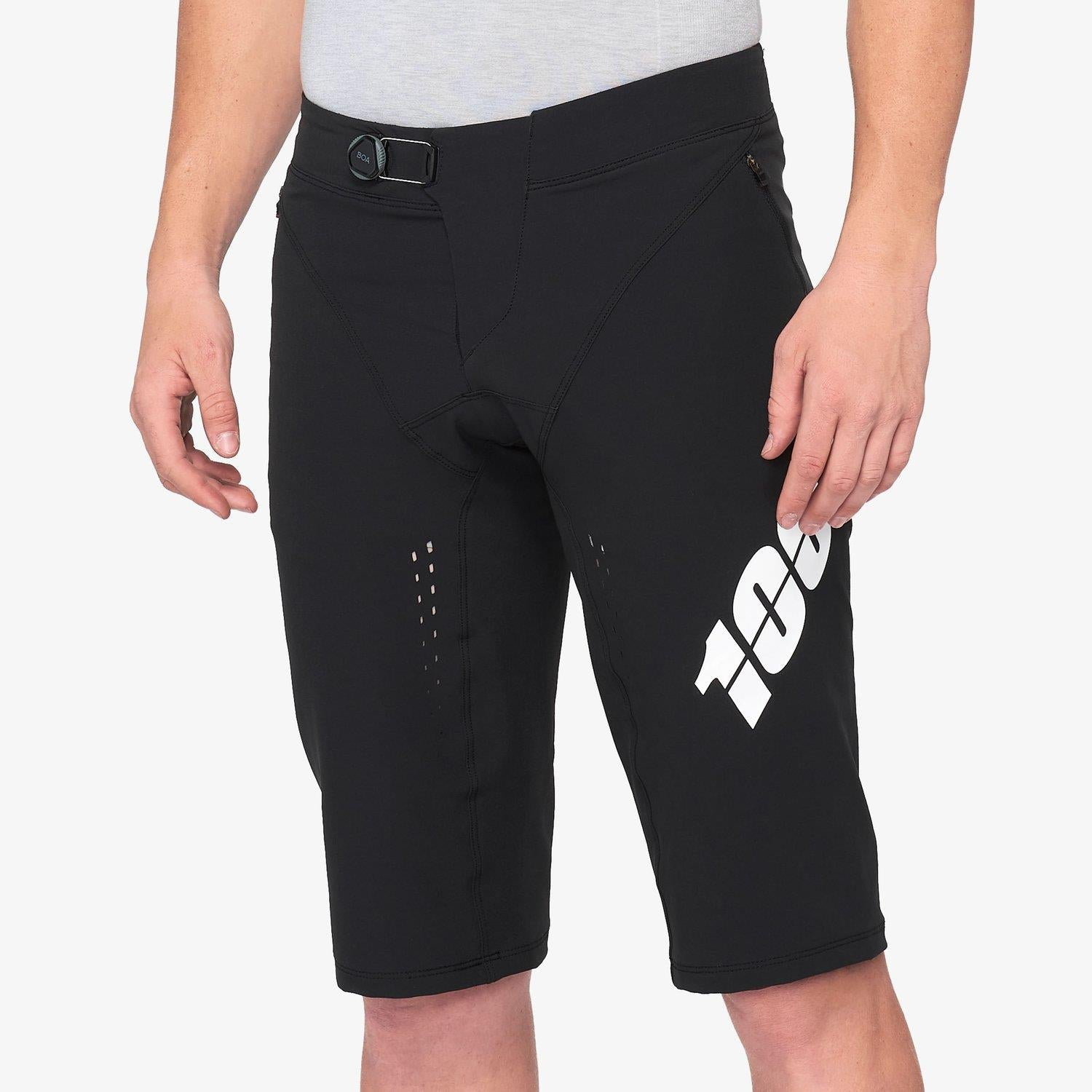 100% R-Core X Race Shorts - Black