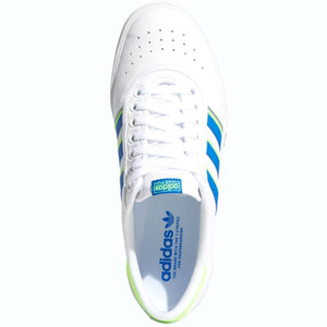 Adidas Lucas Premiere Shoes - White/Glory Blue/Signal Green