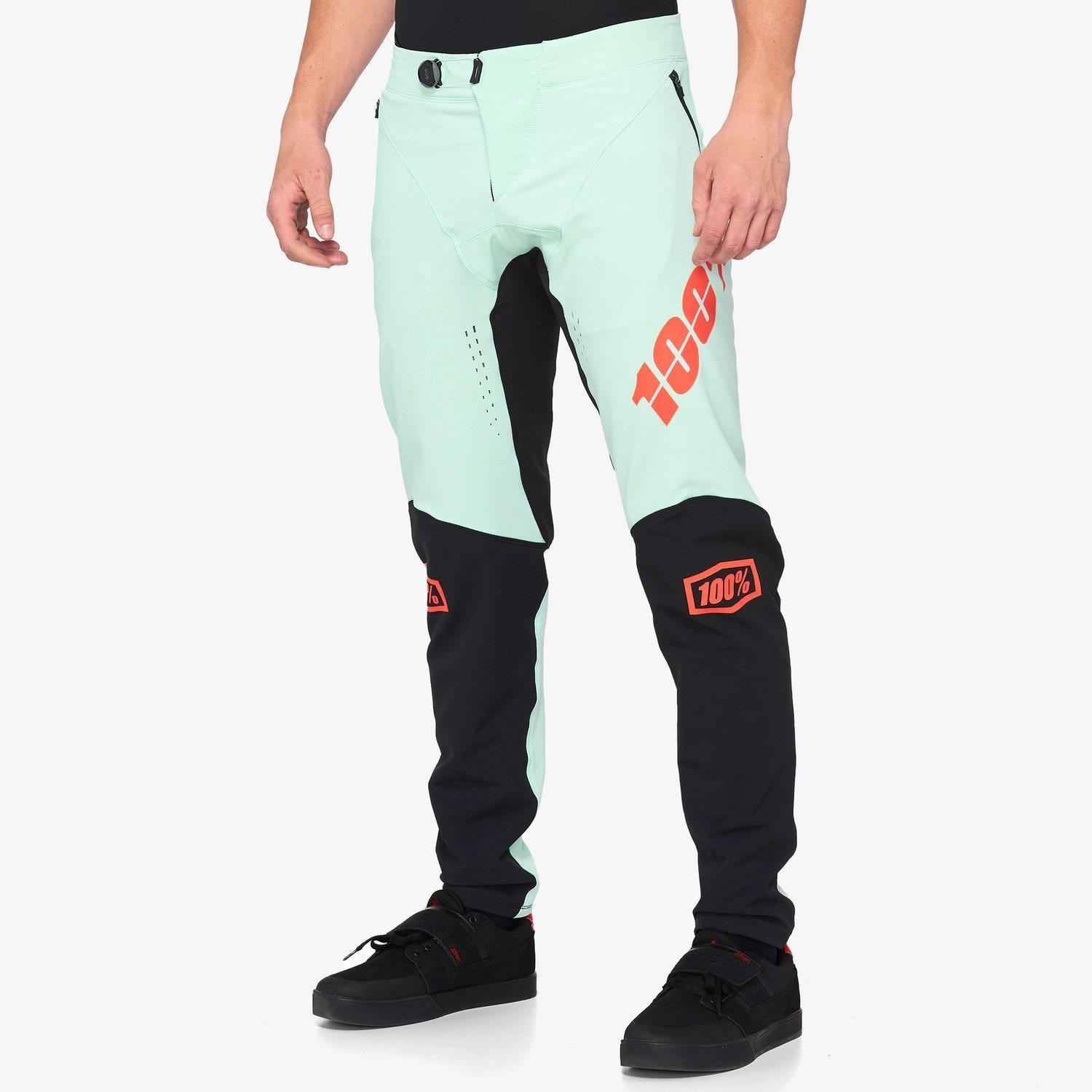 100% R-Core X Race Pants - Foam/Black