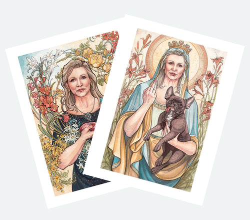 Carrie Collection Package Deal: Cardstock prints