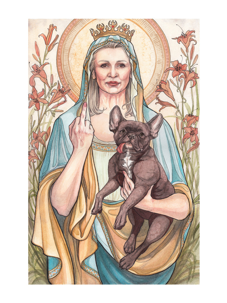 SPECIAL LIMITED GICLEE PRINT EDITION: Blessed Rebel Queen