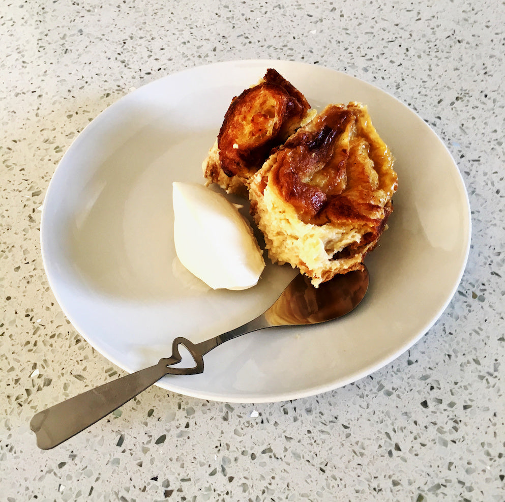 Tasty Tuesday Recipe - Coffee Laced Bread and Butter Pudding