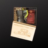 Espressily for You personalised Moka Pot Gift Box