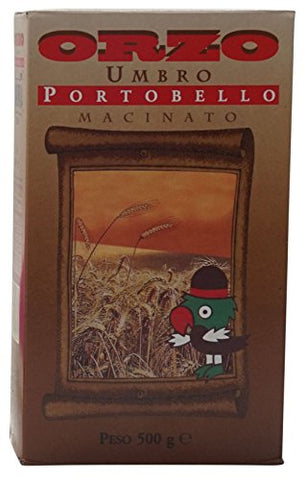 Caff Batani:  Orzo Umbro Macinato Portobello   Toasted Ground Barley 500 G - 17.64 Oz [ Italian Import ]