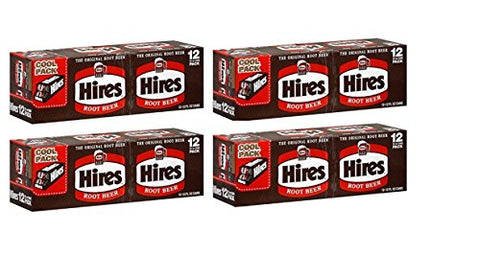 Hire'S Root Beer 12 Pack, 12-Ounce Cans