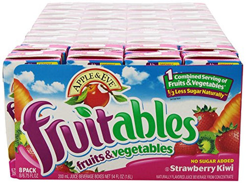 Apple & Eve Fruitables, Strawberry Kiwi, 8 Count , 200 Ml