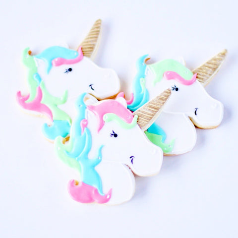 Dz. Unicorn Cookies! Birthday Party Themed Favors Or Gift!