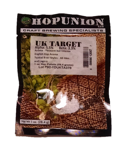 Hopunion Imported Hop Pellets For Home Brew Beer Making (English - Target)