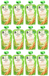 Beech-Nut Veggies On-The-Go, Baby Food, Stage 2, Carrot, Zucchini & Pear, 3.5 Ounce Pouch