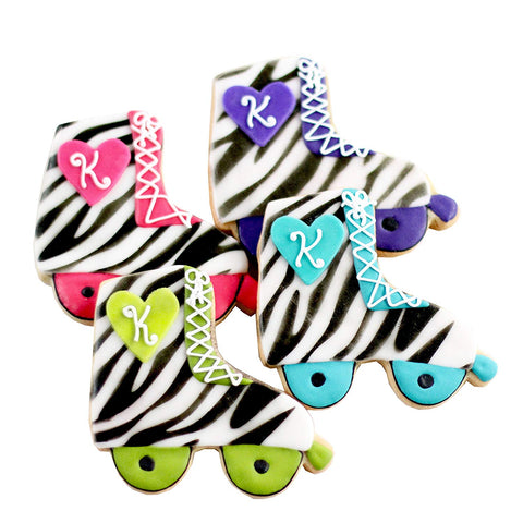 Dz. Roller Skate Cookies! Disco Themed Birthday Party Favors Or Gift!