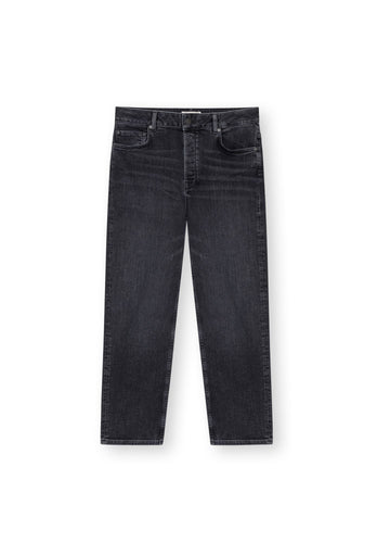 TT202 Straight Cropped Jeans mid-grey