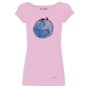 T-Shirt Moon Girl