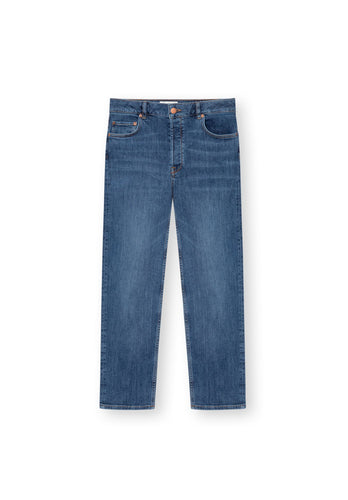 TT202 Straight Cropped Jeans