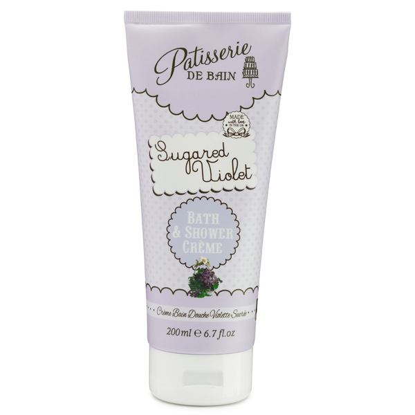 SUGURED VIOLET BATH AND SHOWER CREME
