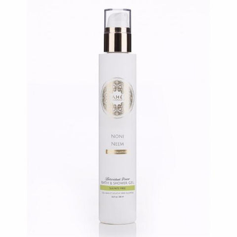Ahe Naturals Noni & Neem Body Cleanser - Sulfate-Free - Anti-Pollution