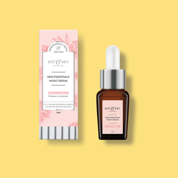Dot & Key Skin Essentials Night Serum, for all skin types, night serum for skin glow and anti ageing