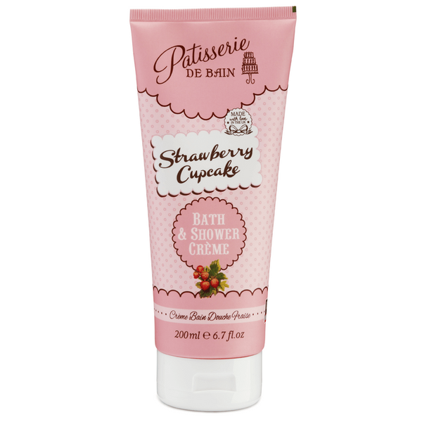 STRAWBERRY CUPCAKE BATH & SHOWER CREME