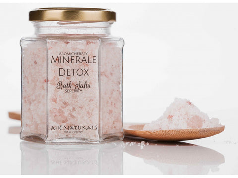 Ahe Naturals Mineral Detox - Aromatherapy Bath Salts