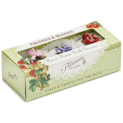 CHERRIES & BERRIES BATH FANCIES GIFT SET – 3 PIECE