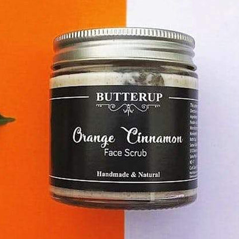 BUTTERUP ORANGE CINNAMON FACE SCRUB