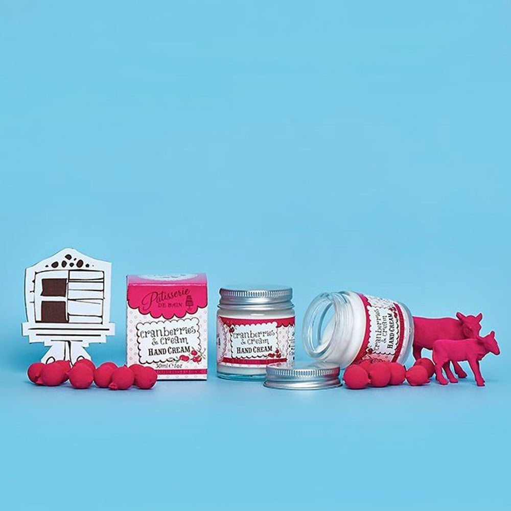 CRANBERRIES & CREAM HAND CREAM JAR 30ML