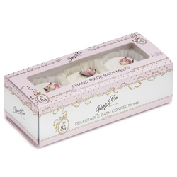 NO 84 ROSE BATH FANCIES 3 PIECE GIFT SET
