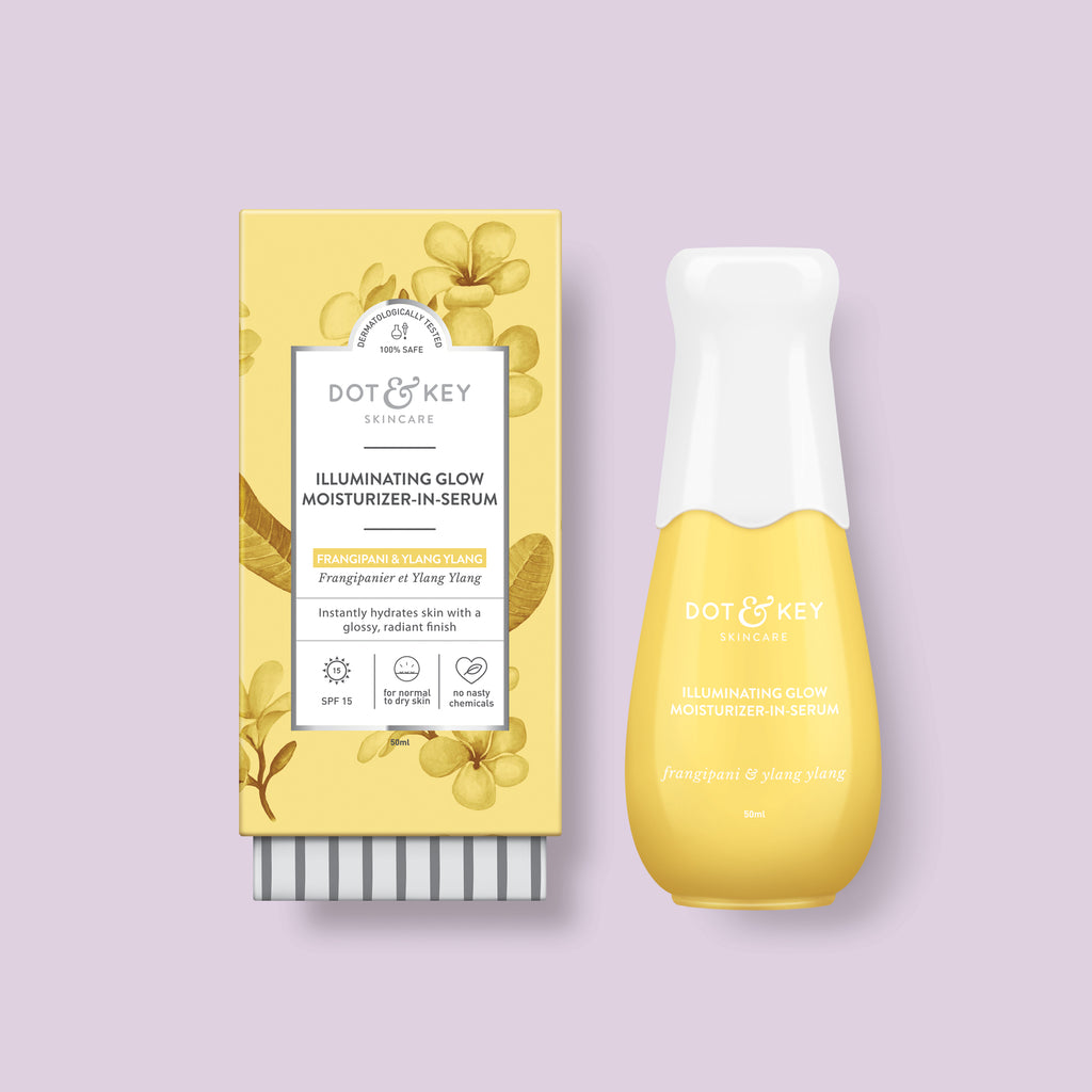 Dot & Key Illuminating Glow Moisturizer in Serum, face serum for glowing skin