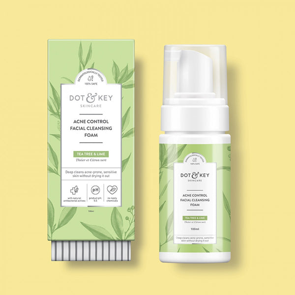 Dot & Key Acne-Control Facial Cleansing Foam