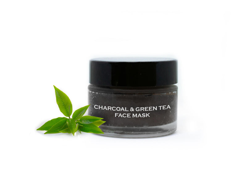 Bliscent Charcoal & Green Tea Face Mask