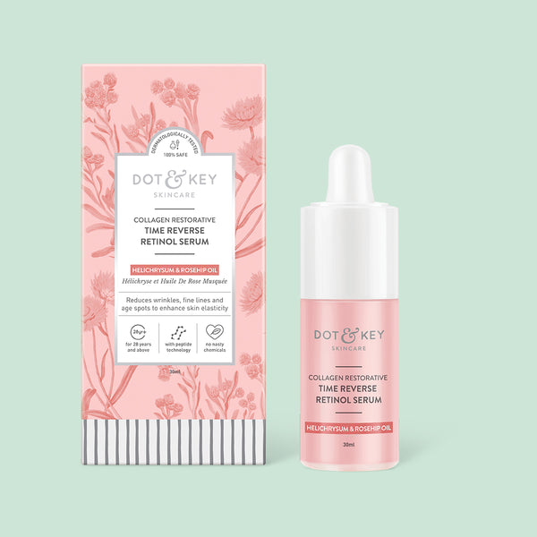 Dot & Key Collagen Restorative Time Reverse Retinol Serum, 30ml