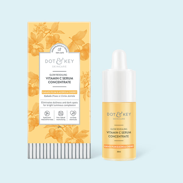 Dot & Key Glow Revealing Vitamin C Serum Concentrate, 30ml
