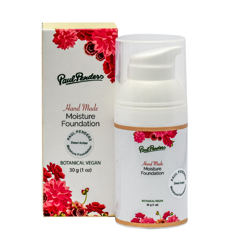Paul Penders Handmade Moisture Foundation - Sweet Amber