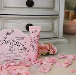 ROSE PETAL SALVE TUBE 10G