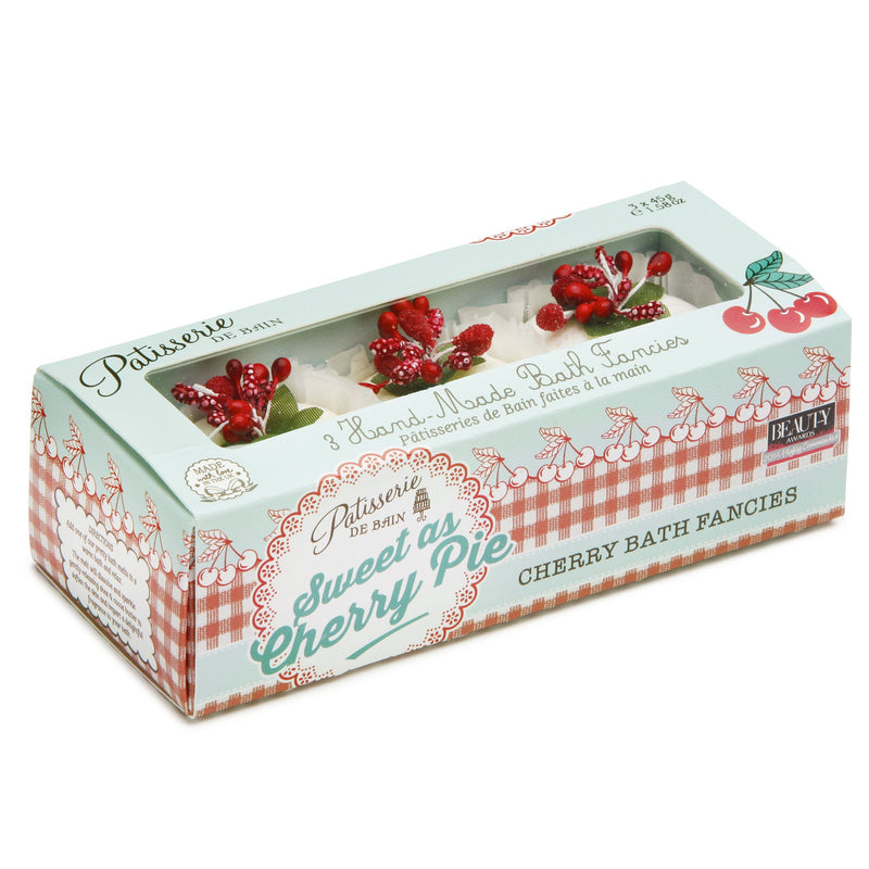 SWEET AS CHERRY PIE BATH FANCIES GIFT SET – 3 PIECE