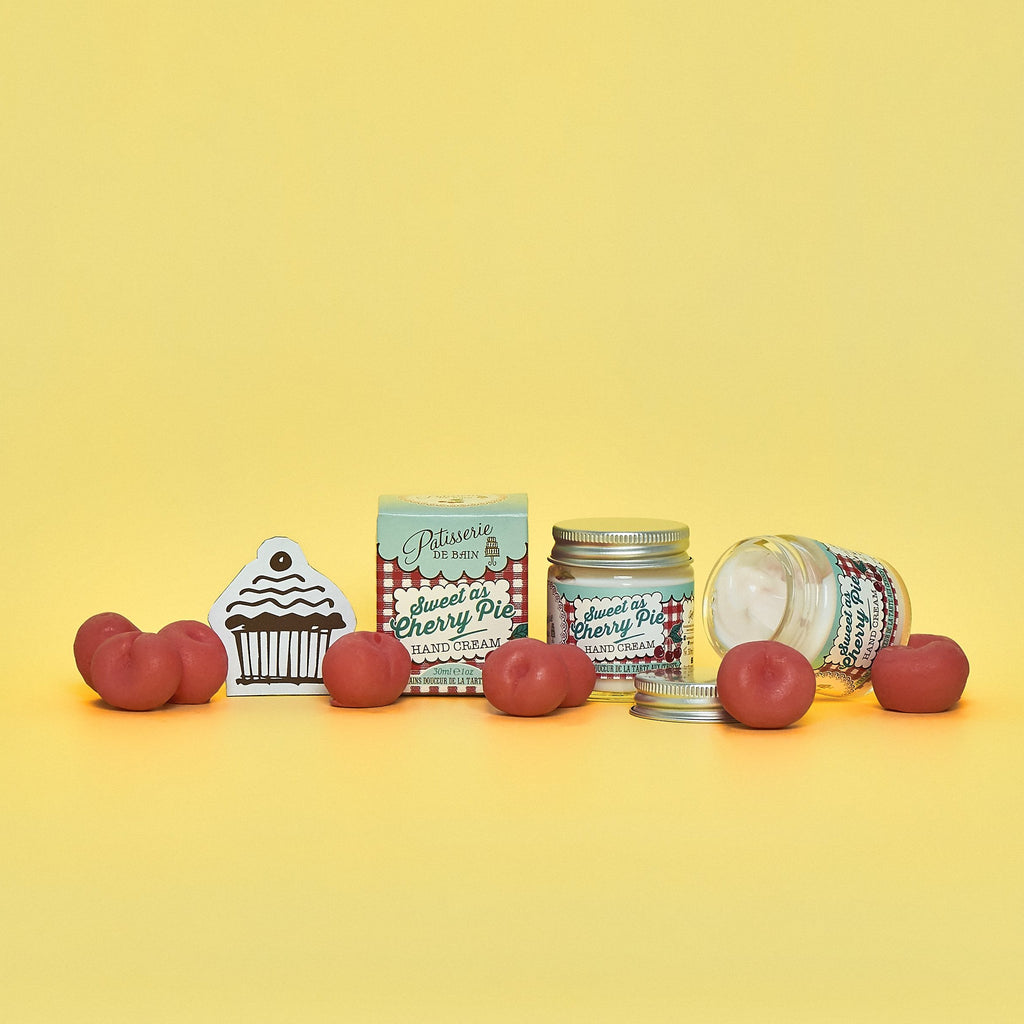 SWEET AS CHERRY PIE HAND CREAM JAR 30ML