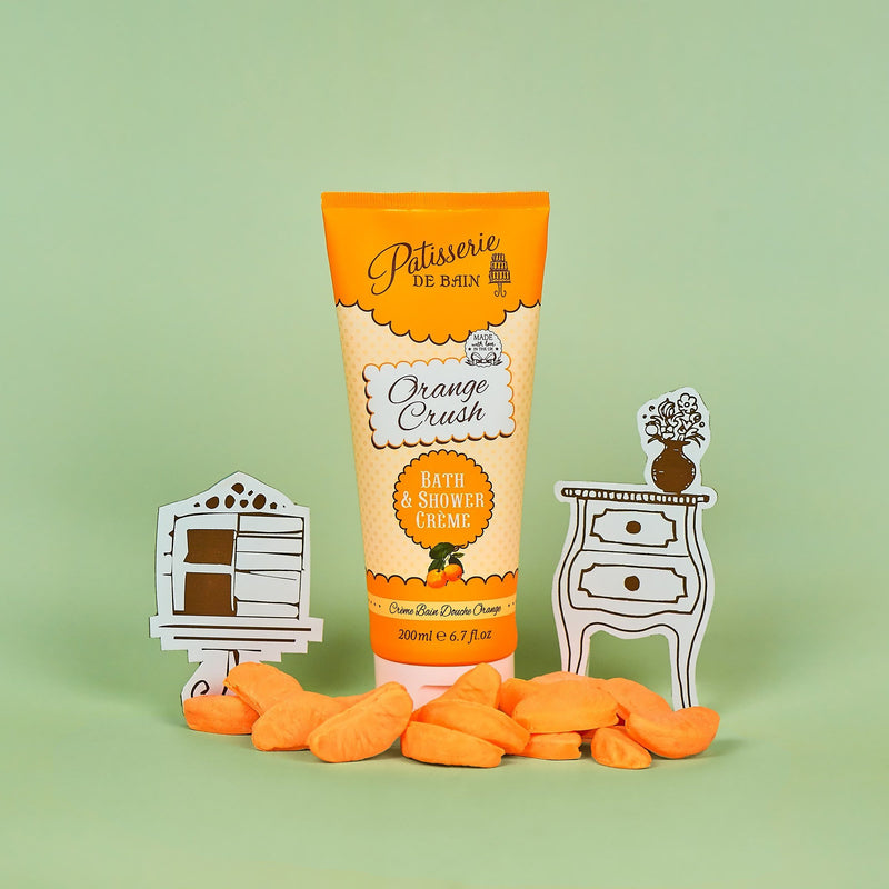 ORANGE CRUSH BATH & SHOWER CREME