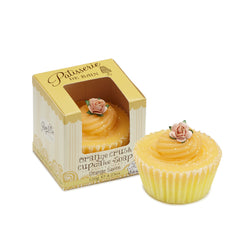 ORANGE CRUSH CUPCAKE SOAP
