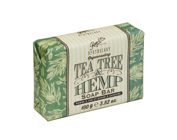 TEA TREE & HEMP SOAP BAR
