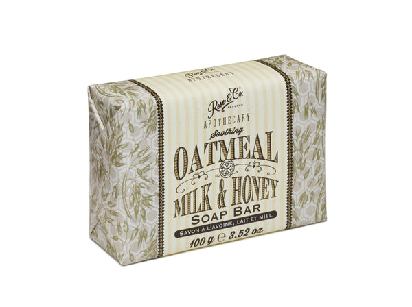 OATMEAL, MILK & HONEY SOAP BAR