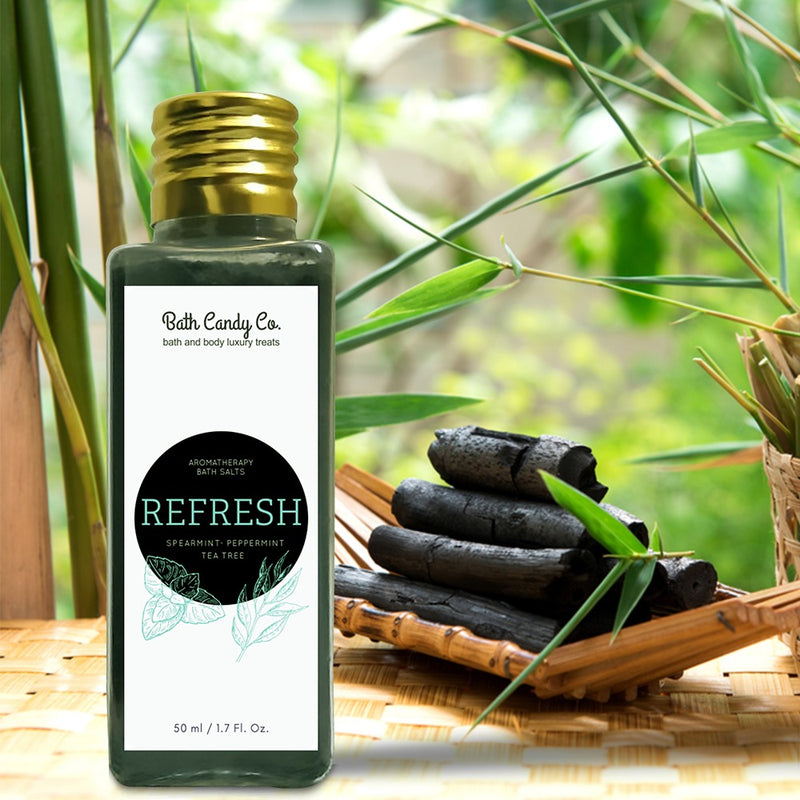Refresh- Charcoal Bath Salts