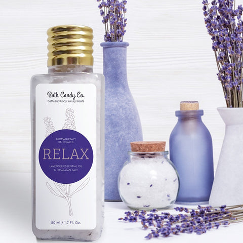 Bath Candy Co Relax- Lavender Bath Salts