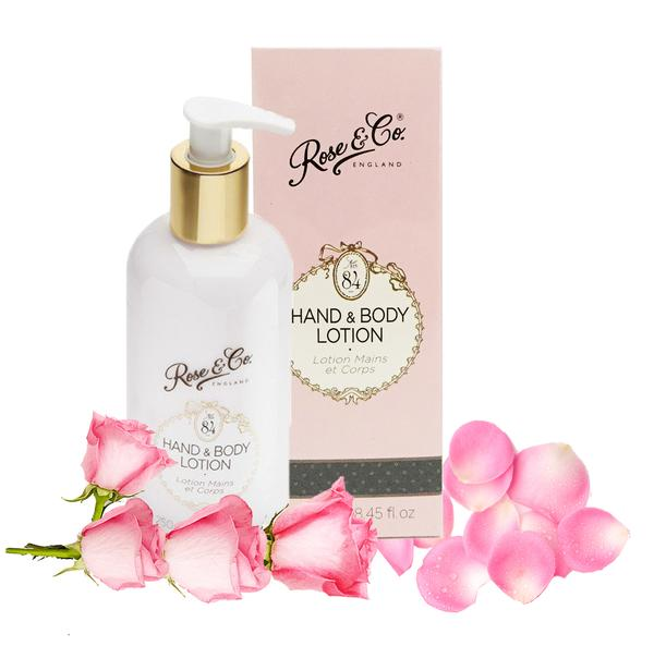 Bath Soak + Hand & Body Lotion by Rose & Co.