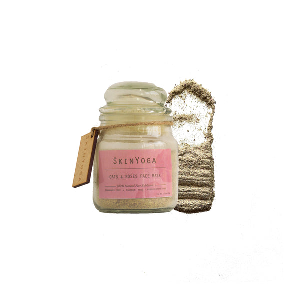 SKIN YOGA OATS & ROSE FACE WASH AND MASK