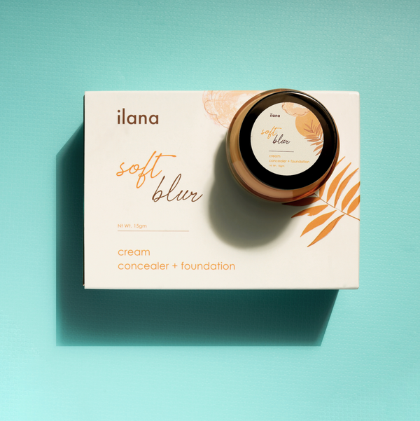 ILANA ORGANICS  SOFT BLUR - CREAM CONCEALER & FOUNDATION