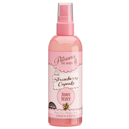 STRAWBERRY CUPCAKE BODY MIST SPRAY
